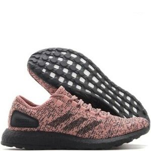 New adidas pure boost running shoes